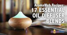 Enjoy these 17 helpful, easy-to-make essential oil diffuser blends. Includes tips, suggestions and links to even more blends.