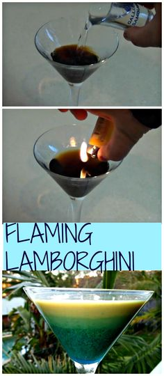 Learn to make the fancy Flaming Lamborghini. You would be surprised, it's so easy. http://www.ifood.tv/recipe/how-to-make-a-flaming-lamborghini