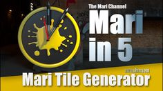 Mari Tile Generator tutorial | Create your own tileable textures inside ...