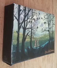 """Paintings - FREE COURIER --- """"MISTY MORNING GATHERING"""" Original Painting by KAROO Artist, Cherie Roe Dirksen for sale in Barrydale (ID:460493438) Original Paintings, Original Art, South African Artists, Art Auction, All Art, Tapestry, The Originals, Canvas, Board"""