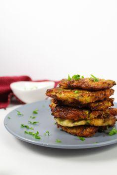 Two words for you today – Zucchini Fritters. These delicious zucchini fritters are crispy on the outside and moist on the inside. A quick and easy meal that never gets old.