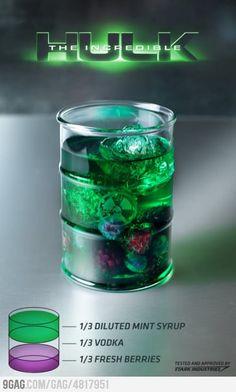Hulk drink!