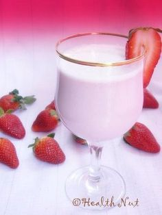 Try this healthy dessert on Valentine's Day. Simple, healthy and delicious!
