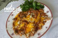 Köz Patlıcanlı Menemen Tarifi nasıl yapılır? 169 kişinin defterindeki bu tarifin resimli anlatımı ve deneyenlerin fotoğrafları burada. Yazar: Nagihan RaNa Eggs, Breakfast, Recipes, Foods, Morning Coffee, Food Food, Egg, Recipies