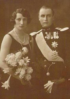 Princess Martha and Princess Olav  of Norway