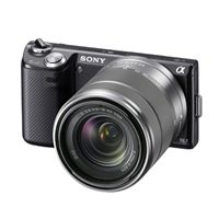 MP Compact Interchangeable Lens Camera with 18-55