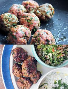Lamb Kofta (sauce has yogurt) | Paleo Entrees | Pinterest