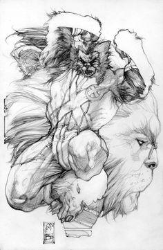 Beast, by Simone Bianchi