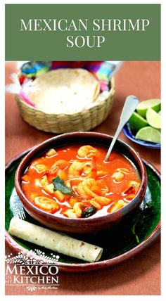There is a multitude of ways Caldo de Camarón is made in Mexico, and each region can have its own recipes. Shrimp Soup, Seafood Soup, Seafood Recipes, Gourmet Recipes, Mexican Food Recipes, Soup Recipes, Cooking Recipes, Healthy Recipes, Cheap Clean Eating
