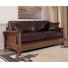 I don't know how comfortable it is....Stickley Orchard Street Sofa