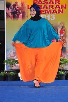 Fashion Hijab For Big Size...