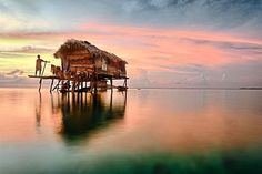 This picture of a sea gypsy home in Sabah will be making its way around the world after it claimed the number one spot in a global photography contest organised by KLM - Photo ©Muslianshah Masrie