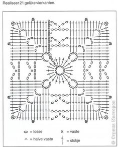 "Crochet pattern ""green bolero, shrug"" by Skill Level: Intermediate. XL-XXL-XXXL and more Yarn: cotton or a. Motifs Granny Square, Crochet Motifs, Granny Square Crochet Pattern, Crochet Chart, Crochet Squares, Crochet Doilies, Crochet Flowers, Crochet Stitches, Free Crochet"