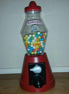 Sinterklaas surprise kauwgomballen automaat bubblegum gumball vending machine