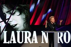 Bette Midler inducts Laura Nyro into the Rock and Roll Hall of Fame 2012 The Rock, Rock And Roll, Laura Nyro, Bette Midler, Joker, Faces, Music, Youtube, Movie Posters