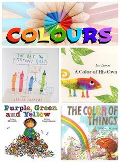 Picture books about colour!