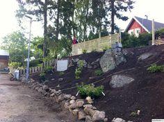 spaljé,slänt,stenmur,staket,bauhaus,blomsterlandet,spirea,stenväxter,silverarv,magnolia