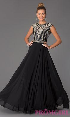 Image of Long Beaded Prom Dress JVN24413 Jovani Style: JO-JVN-JVN24413 Front Image