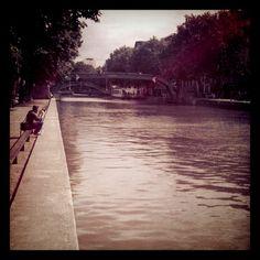 Canal Saint Martin, Paris 10ème