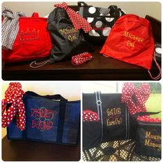 Cute Thirty-One bags, personalized for Disney