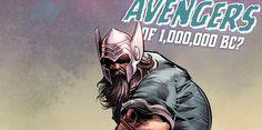Marvel's Odin Wields Thor's Hammer in 1,000,000 BC Avengers