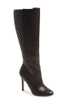 BCBGeneration 'Beasly' Quilted Knee High Boot (Women) available at #Nordstrom