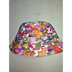 MA FAV CARTOON BUCKET HAT found on Polyvore 12aa12675630