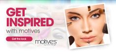 Motives Get The Look, all you need for your beautiful face can get from>>> http://www.motivescosmetics.com/tllin/?