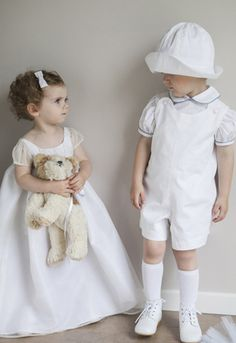 Adorable Baby Boy Christening Outfit Gown Baptism By French Royal Brand Little Eglantine