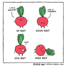Supermarket RD's Pick: Love Beets Food Puns, Food Humor, Funny Food, Love Beets, Ohh Deer, Cute Puns, Punny Puns, Easy Healthy Dinners, T 4