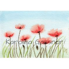 Watercolour Paintings, Watercolor, Poppies, Charity, Tapestry, Collections, Create, Gifts, Decor