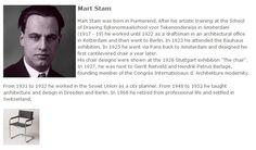 Mart Stam - eng. text
