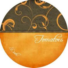 Through the thorns to the stars: Canning Lid Labels - Free Download