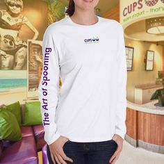 Long-Sleeve T-Shirt -The Art Of Spooning