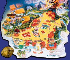 map of universal studios hollywood park | Universal Studios Japan ...