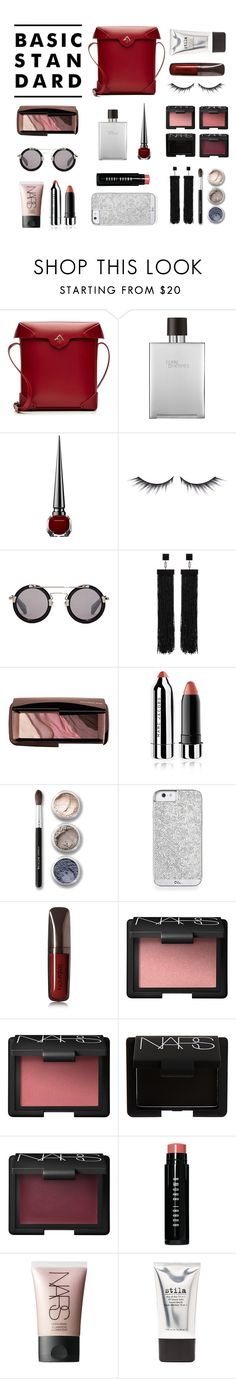 """(483)"" by megabxbe ❤ liked on Polyvore featuring beauty, MANU Atelier, Hermès, Christian Louboutin, shu uemura, Yohji Yamamoto, Tom Ford, Hourglass Cosmetics, Marc Jacobs and Bare Escentuals"