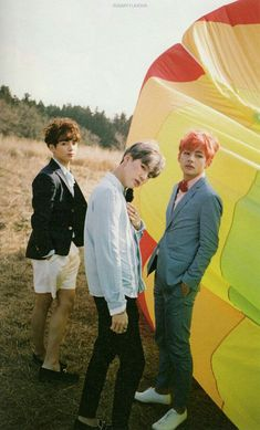 Jungkook, Suga & V BTS ❤❤❤ Young Forever (Concepto Fotos)