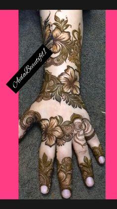 Floral Henna Designs, Back Hand Mehndi Designs, Stylish Mehndi Designs, Latest Bridal Mehndi Designs, Full Hand Mehndi Designs, Mehndi Designs Book, Mehndi Designs 2018, Mehndi Designs For Girls, Mehndi Designs For Beginners