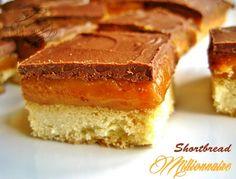 Shortbread millionaire caramel et chocolat : twix maison