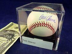 TOM SEAVER Autographed Signed Baseball PSA DNA Graded COA Sealed Acrylic Box MLB Sports Mem, Cards & Fan Shop:Autographs-Original:Baseball-MLB:Balls www.internetauctionservicesllc.com $189.99