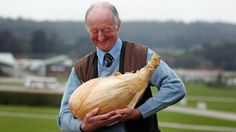 Peter Glazebrook and his record-breaking onion outstanding