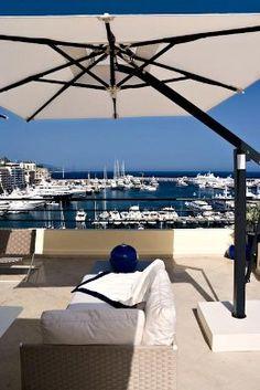 1000 images about piscinas quinchos terrazas on pinterest patio pergolas and decks - Sombrillas para terrazas ...