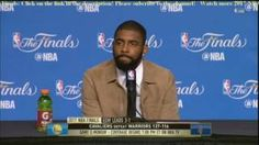 Kyrie Irving Postgame News Conference  2017 NBA Finals Game 4 Cavs def Warriors 137-116