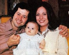 Wayne & Kathy with Amy from Osmond World Magazine 70s