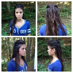 Octavia from the 100. Hair inspiration.