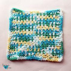 Crochet Puff Flower, Love Crochet, Easy Crochet, Single Crochet, Crochet Flowers, Beginner Crochet, Crochet Mandala, Crochet Basics, Chevron Crochet