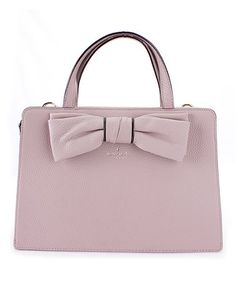 Look what I found on #zulily! Almondine & Black Lise Rosewood Place Leather Tote #zulilyfinds