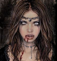 Vampire Costume and Makeup Ideas for Halloween Vampire Costume Women, Vampire Costumes, Halloween Vampire, Halloween Makeup, Halloween Party, Halloween Costumes, Halloween 2017, Halloween Stuff, Spooky Halloween