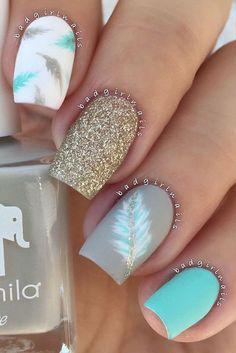 perfect nail art design #nailart