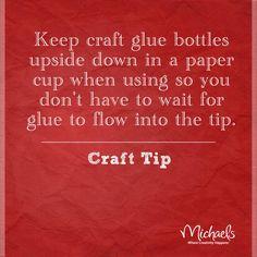 #TuesdayTip #glue #craft #tip